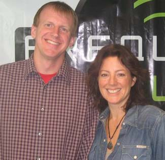 Randy with Sarah McLachlan